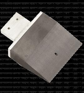 Uhlíková elektróda široká