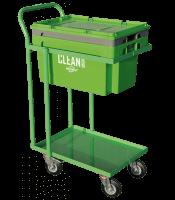 Clean Box s vekom, ponorným košíkom a dvoj-úrovnňovým vozíkom